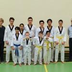 Examen Taekwondo Deerlijk maart 2014