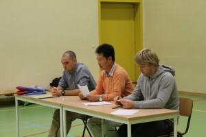 Sfeerfoto 3 examen taekwondo november 2014