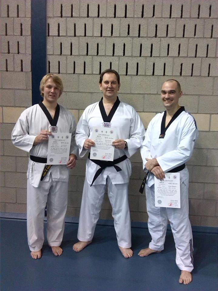Examen taekwondo 2014