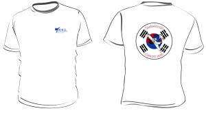 T-shirts Taekwondo Chindojang