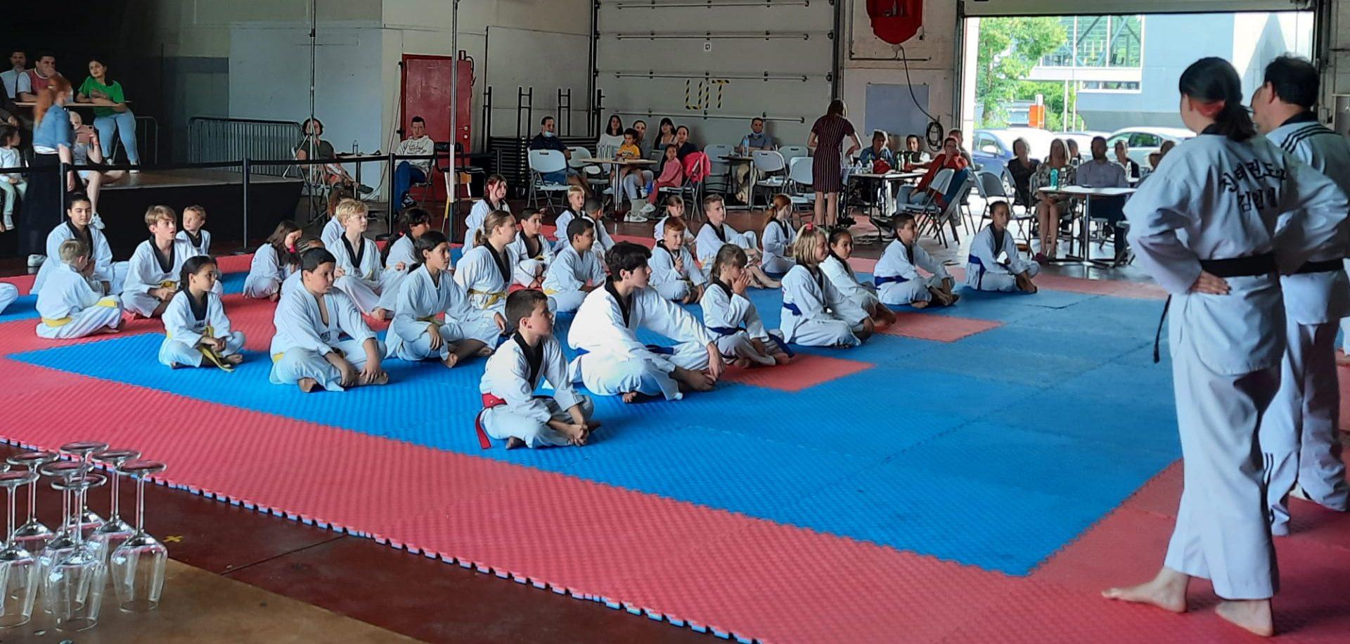 Groepsfoto taekwondo Deerlijk
